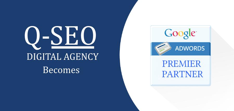 «Q-SEO Студия Интернет-маркетинга» стала партнером Google!